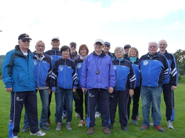 Org.-Team Paarlauf 2017