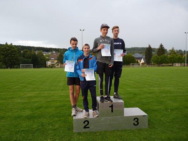 Siegerehrung Paarlauf 2017