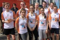 Gruppenbild Stadtlauf Chemnitz 2016