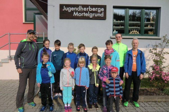 Trainingslager 2017 Mortelgrund Lauf- und Radsport TSV Olbernhau