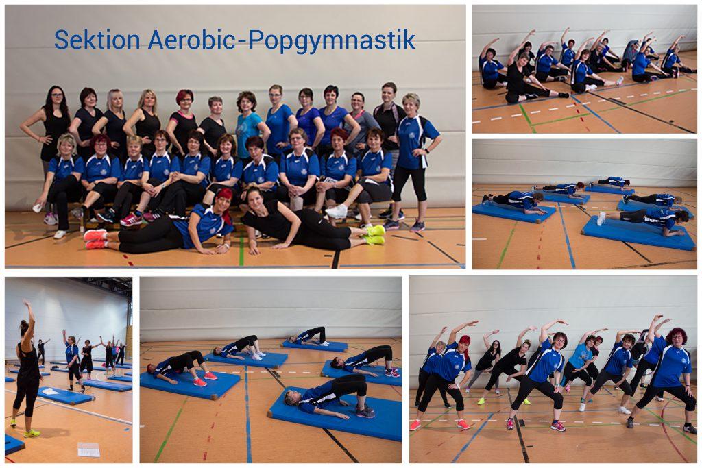 Gruppenbild Popgymnastik 2017