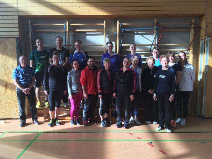 """Übungsleiter Fortbildung """"Breitensport"""" des Kreissportbundes Erzgebirge in Olbernhau am 04.11.2017"""