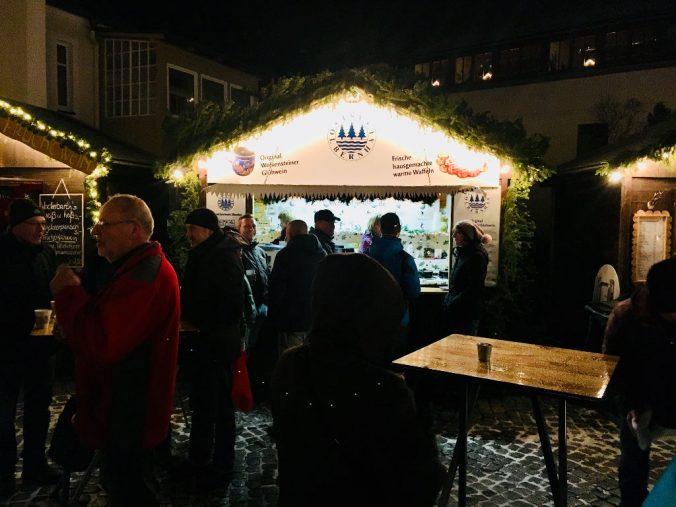 Weihnachtsmarktstand TSV Olbernhau e. V. 2017