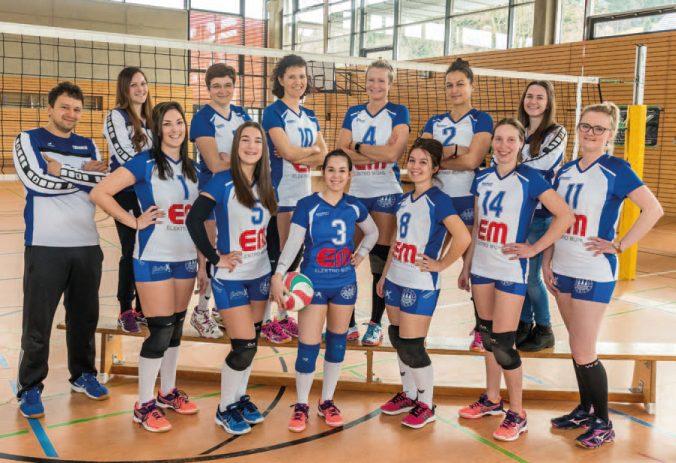 Volleyball Damen - Aufstieg in di Bezirksliga Chemnitz 2019