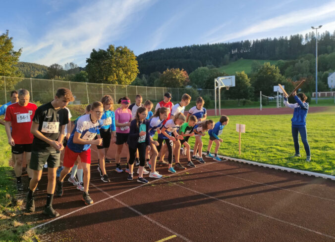 Halbstundenpaarlauf 2021 - Start Halbstunden-Lauf
